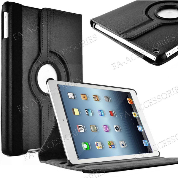 360 rotating pu leather tand mart ca e cover for ipad air mini 3 4 5 2019 pro 9 7 2017 2018 air 10 5 galaxy tab a e 4 3 2 8 9 7 ca e