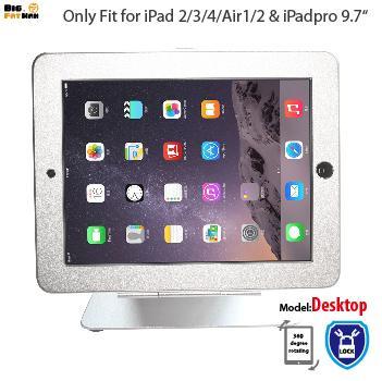 Tablet holer güvenlik masaüstü ipad 2 3 4 için standı hava tablet tezgah kilit tutucu vitrin braketi masaya monte anti-hırsızlık