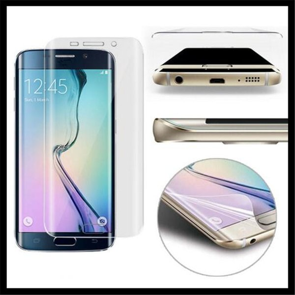 For iphone 7 Plus 6 6S Samsung Galaxy S8 Plus S6 S7 Edge Full Body Cover Front Back TPU Screen Protector Retail Package