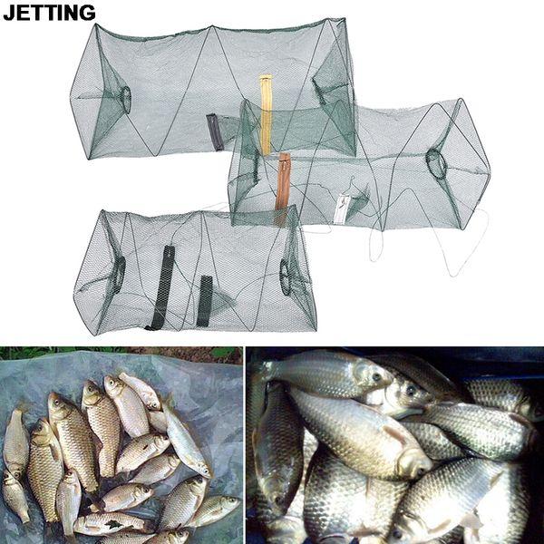 JETTING Fishing Net For Crab Fish Crawdad Shrimp Minnow Fishing Bait Trap Cast Dip Foldable Net Cage Fishing Accessaries 1 Pcs