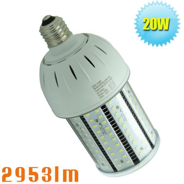 20W llevó las bombillas de reemplazo del jardín superior del poste el bolardo del disipador de calor llevó el reemplazo de las piezas del bulbo 80watt MH o HPS