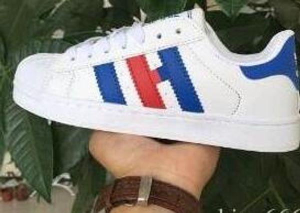 белый / синий / красный