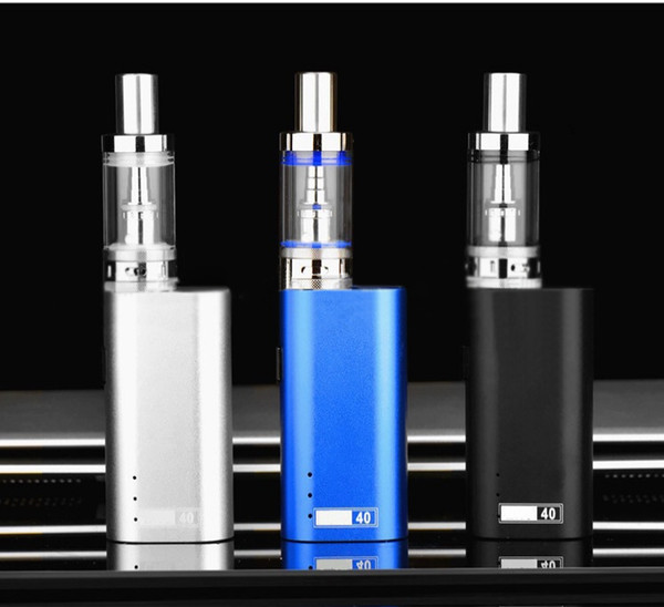 electronic cigarette Large Power 40W new smoke Battery capacity 2200mah Metal Plastic Colourful and safe vape pen safe and health HotSale