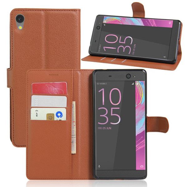 For Sony XA Ultra Wallet PU Leather Case For Sony Xperia XA Ultra C6 Ultra Magnetic Filp Cover Card Slot Holder Stand Phone Bag