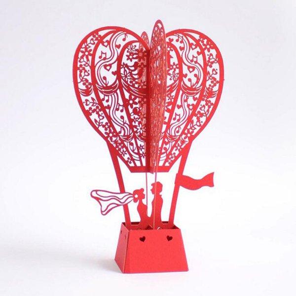 Cheap Hot Air Balloon Lover Postcards Creative Wedding Gift Card – Wedding Gift Cards Online