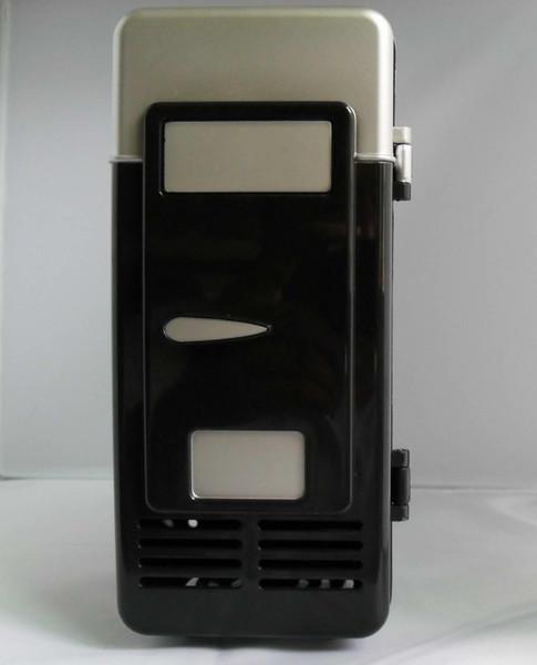 top popular USB mini fridge heating and dual mini l mini office small appliances small refrigerator may Cooling Heating 2020