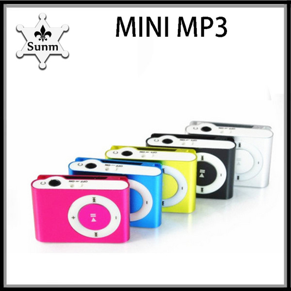 best selling Colorful mini clip protable MP3 kit (earphone, charging wire) music player VS headphones hbq i7 770002-1