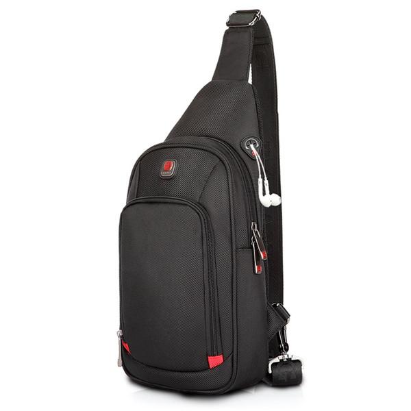 best selling Crossbody Bags for Men Messenger Chest Bag Pack Casual Bag Waterproof Nylon Single Shoulder Strap Pack 2017 New Fashion