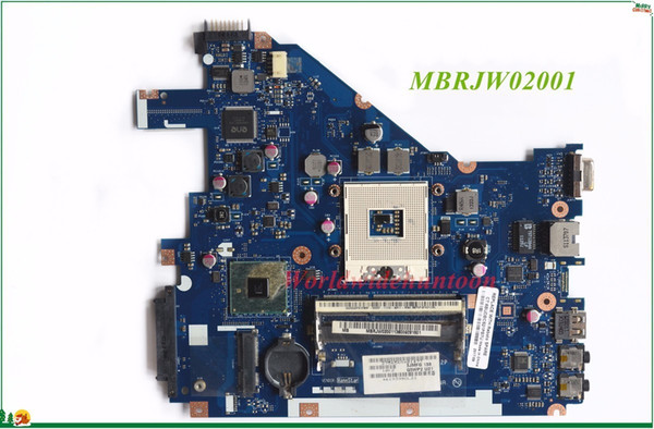 High Quality MB MBRJW02001 For Acer Aspire 5733 5733Z Laptop Motherboard PEW71 LA-6582P rPGA988A HM55 DDR3 100% Tested