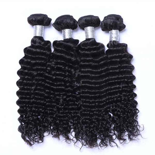Best Quality Hot Sell Wholesale Brazilian Indian Peruvian Deep Curly hair extension unprocessed human virgin hair weave free shipping