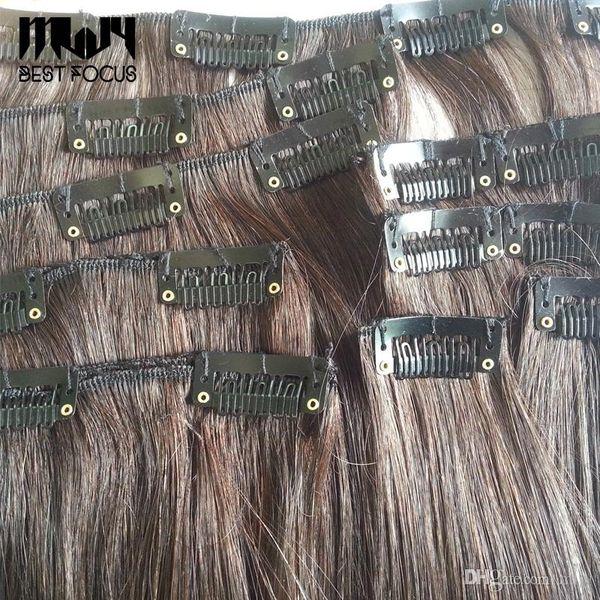 Saç Uzantıları Siyah Kahverengi Saç Aksesuarları Aracı 500 adet / lot için Silikon Geri Peruk Saç Klipler 28mm 32mm U Şekilli Peruk Klipler