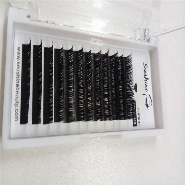 Hot sales Natural Long 3D Eyelash Extension Individual Lashes False Lashes Fake Lash for free shipping