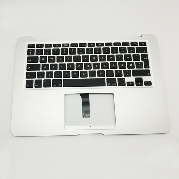 """New Danmark DM Keyboard Topcase Replacement For Apple Macbook Air 13"""" A1466 Top Case 2013 2014 2015 Year"""