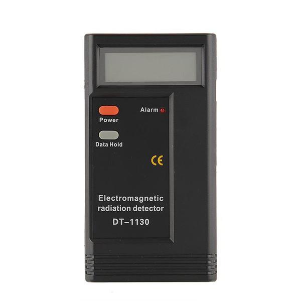 20PCS/LOT Digital LCD Electromagnetic Radiation Detector EMF Meter Dosimeter Tester no pack dhl free shipping