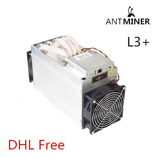 Antminer L3+ 504MH/S Btimain Litecoin LTC Scrypt Miner For Antminer L3+  504MH/S With No PSU Bitcoin Mining Machine Best Mining Hardware Buy Bitcoin