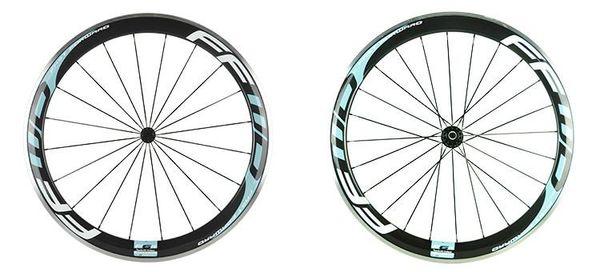 700c 50mm clincher road bike carbon fiber rear wheel 23mm width aluminum alloy brake track 3K UD glossy matte F372SB F482SB 24H