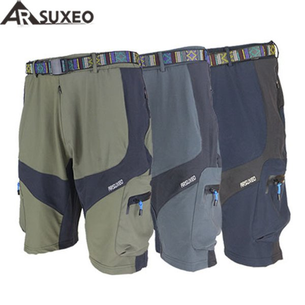 2017 ARSUXEO Mens Outdoor Sports Loose Fit Cycling MTB Shorts Mountain road Bike Bicycle shorts Jersey wear clothes 1406