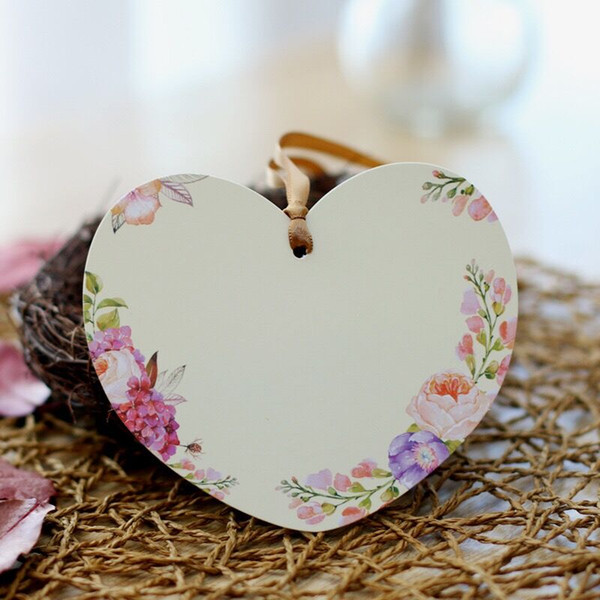 best selling Heart Cut Flower Wedding Invitation Cards Bookmark Blessing Card Personalized Wedding Party Cards Blessing Card Wedding Supplies 12 styles