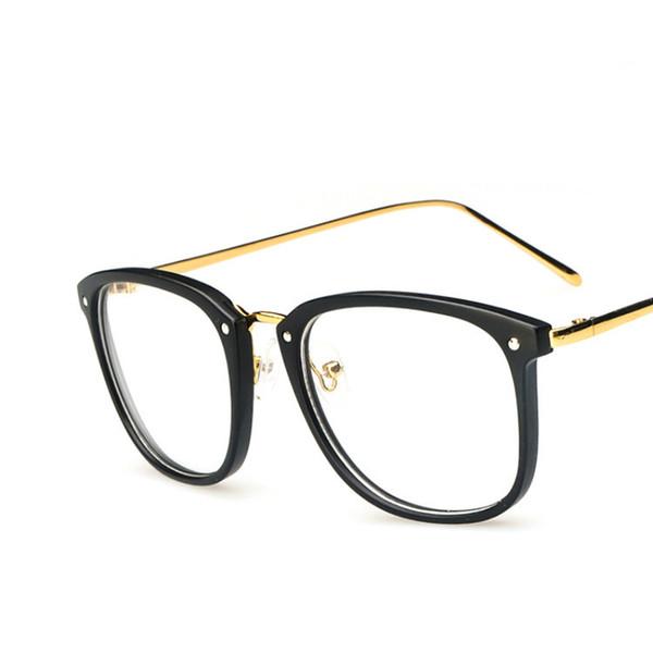 Wholesale- ANEWISH Fashion Vintage Eyewear Glasses Women Man Eyewear Optical Glasses Frame Computer Clear Lens Eyeglasses