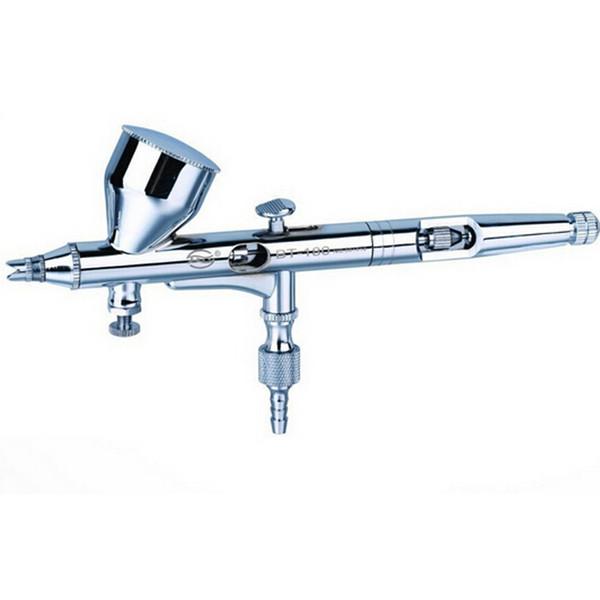 0.2mm Dupla Ação Dupla Ação Airbrush Pen Ar Pistola Pulverizador Caneta Pulverizador para Nail Art / Body Tattoos Spray / Bolo / Modelos de Brinquedo
