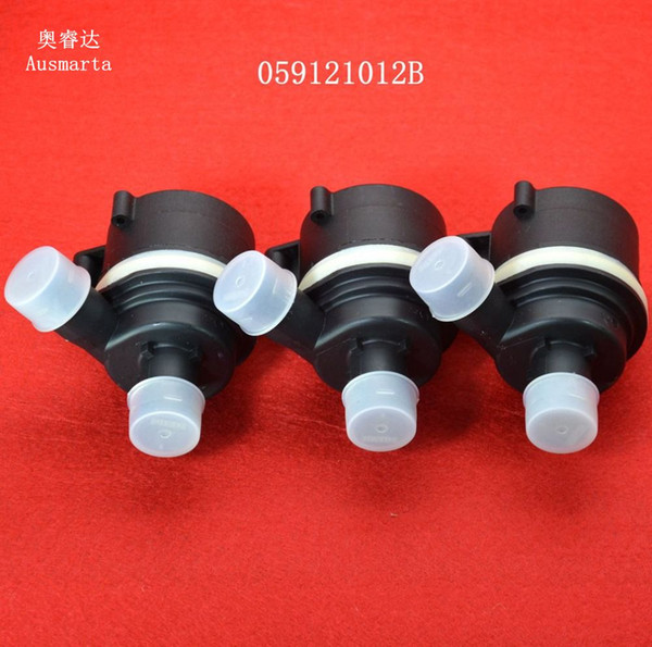 top popular 3 Pcs High quality frree dispatch of new engine auxiliary water pump for a4 a5 a6 a7 vw touareg oem 059121012B 2021
