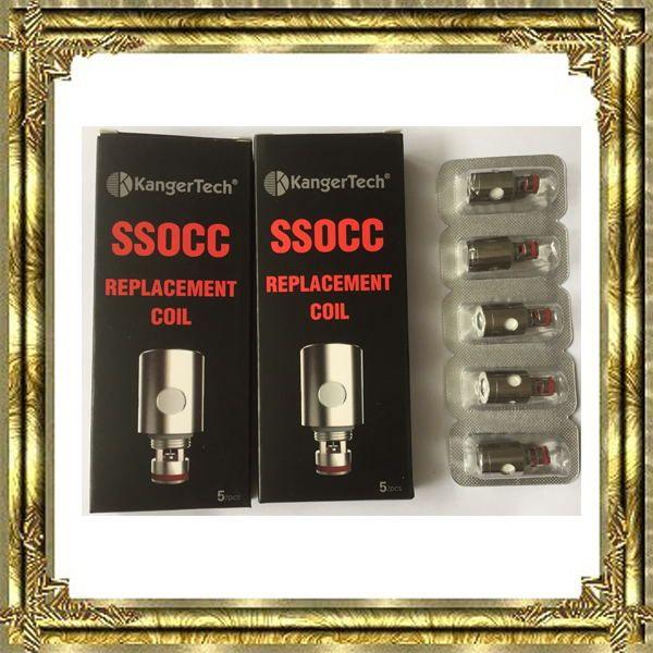 best selling new Kangertech SSOCC OCC Coils 0.15 0.2 0.5 1.2 1.5ohm Coil For Kanger Subtank V2 Atomizer