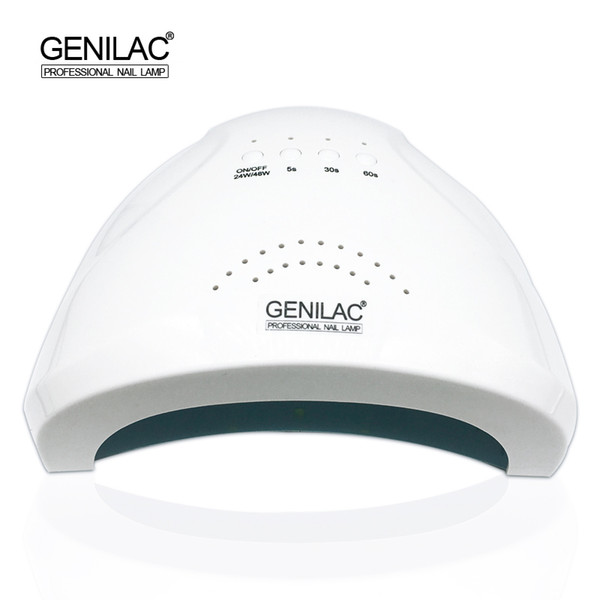 2019 Wholesale Genilac 48w Sunone Uv Led Lamp 30 Leds Sun Nail Dryer Quick Dry Uv Led Nail Lamp For Curing Nail Gel Art Tool From Blueberry14 50 22
