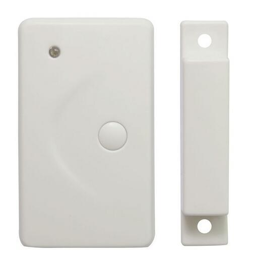 Оптовая продажа-беспроводной датчик окна / двери магнитный контакт с тревожной кнопкой 433 МГц WIFI GSM / PSTN Auto Dial Home Security Alarm system