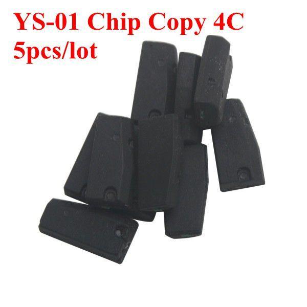 Chip YS-01 all'ingrosso può copiare solo 4C 5pcs / lot Chip YS01 4C Transponder può utilizzare solo una volta, e può supportare solo 4C Spedizione gratuita