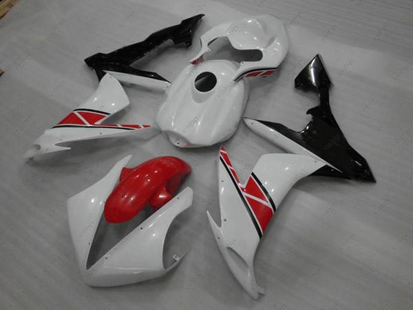 ABS Fairing YZF R1 04 05 Body Kits for YAMAHA YZFR1 05 06 White Black Red Plastic Fairings YZFR1 2006 2004 - 2006