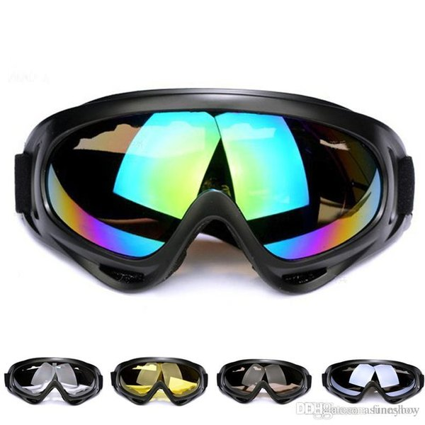 New Outdoor Windproof X400 Ski goggles case ski goggles anti fog Motorcycle Goggles Eyewear Protective Motorcross Impact Resistan