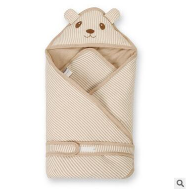 New Baby Swaddle Blanket Wrap Sleeping Bag Thick Swaddle Blanket Baby Toddler Item Prevent Colds Free Shipping