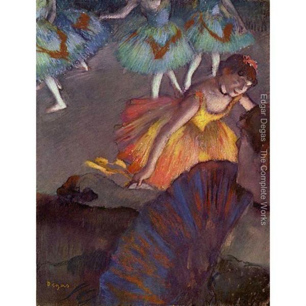 Edgar Degas art Ballet, vu d'une loge Peinture à l'huile sur toile peinte à la main danseuse image pour la décoration murale