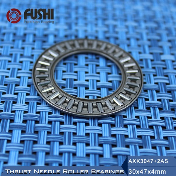 2 PCS AXK3047 Thrust Needle Roller Bearing With Two Washers 30mm x 47mm x 2mm