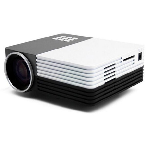 Wholesale-LED Mini Video Projector VGA,USB,SD,HDMI,AV Ports Portable Proyector Home Entertainment Use Projecteur for Video Movie Watching