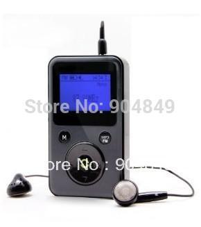 Wholesale-Free shipping pocket DAB Radio /DAB & DAB+ & FM +MP3 radio