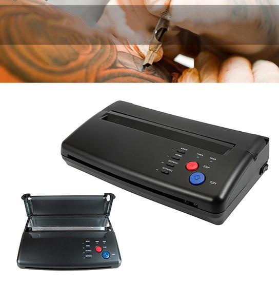 Wholesale- New Tattoo Stencil Transfer Flash Copier Thermal Hectograph Printer Machine CIS Scan Black Color US UK AU EU Plug Available
