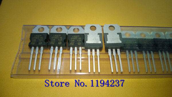 best selling Free Shipping LM317TG LM317T LM317 TO220 Original NEW 10PCS LOT