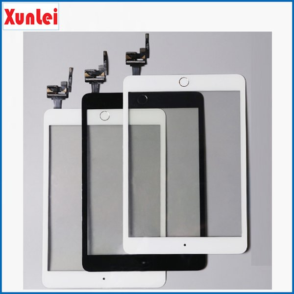 High Quality Touch Screen For iPad mini 3 Digitizer Assembly With Home Button Flex Cable And IC Connector