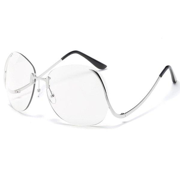 C11 Obiettivo trasparente in metallo argento