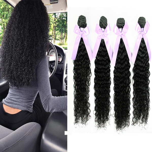Cambodian Kinky Curly Hair Extensions Bundles 3Pcs lot Brazilian Peruvian Malaysian Virgin Remy Hair Cheap Human Curly Hair Weaves