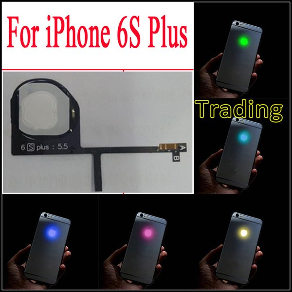 Make Your 6S Plus Shine Glowing Logo For iPhone 6S Plus LED Logo Luminescent LED Light Replacement For iphone6S Plus Fast Free Shipping