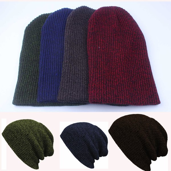 2016 New Mens Casual Hat Fashion Warm Oversized Chunky Soft