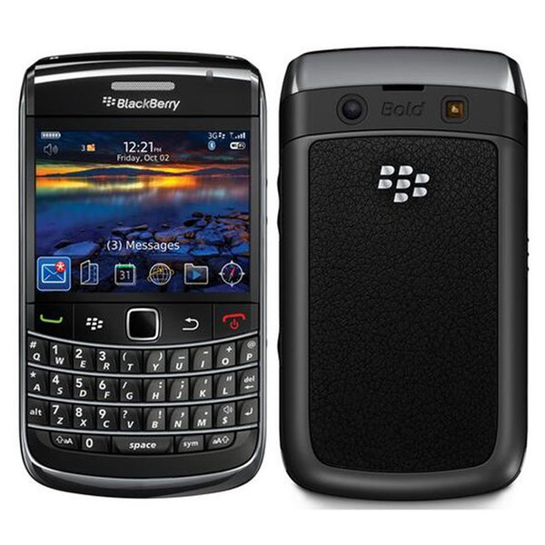 Refurbished Original Blackberry Bold 9700 Unlocked Mobile Phone 3G Smart Phone 2.44 inch 3.15MP Camera WIFI GPS Qwerty Keyboard Post 1pcs