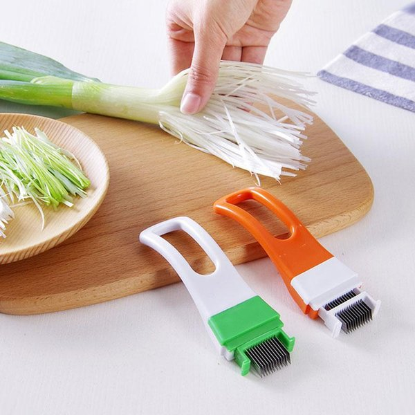 Creative green onion knife/grater Vegetable Slicer shredded cutting Onions Green Onion Cut Cutter Device Kitchen Cooking Tools
