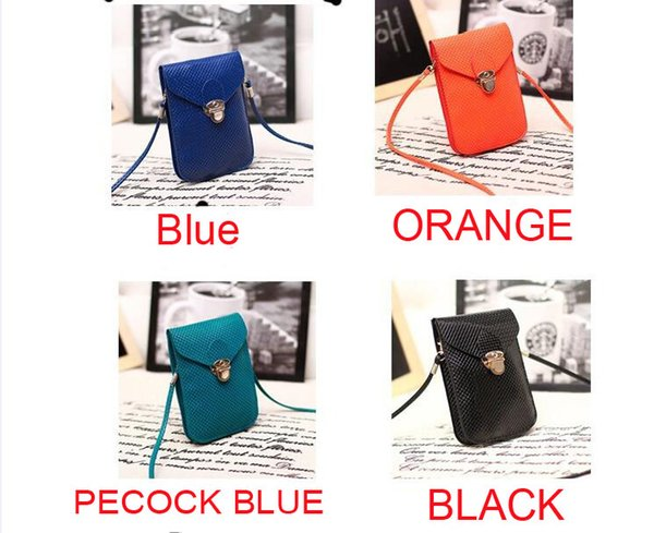 10pc PU Leather Mini Cross-body Messenger Bags wallet Purse Shoulder Bag Mobile Phone pouch Cover Button clutch handbag