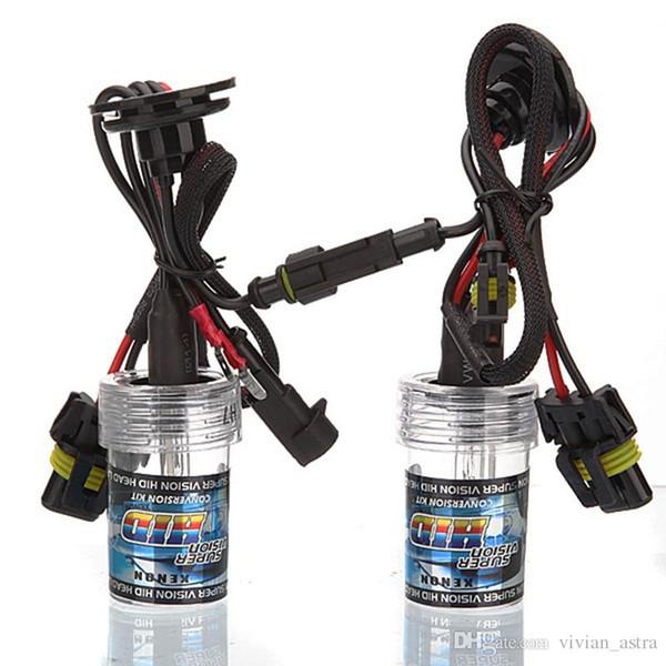 2pcs ampoules de rechange au xénon 35W h7 lampe 3000K 4300K 5000K 6000K 8000K 10000K 12000K 15000K 30000K dv phares de voiture