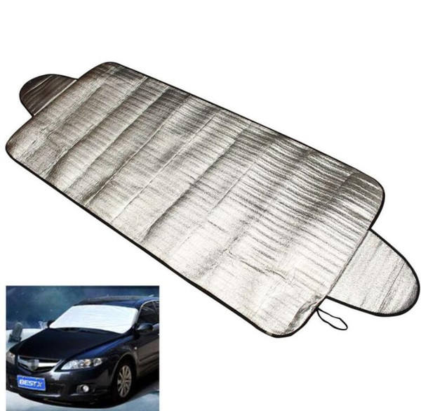 top popular Car-styling Car Covers 192 x 70cm Windscreen Auto Cover Heat Sun Shade Anti Snow Frost Ice Shield Dust Protector 2020