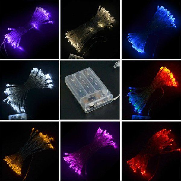 La festa di Natale 3xAA LED stringa di luci della batteria luci nuovo arrivo a batteria 2M 3M 4M 5M 10M decorazioni natalizie