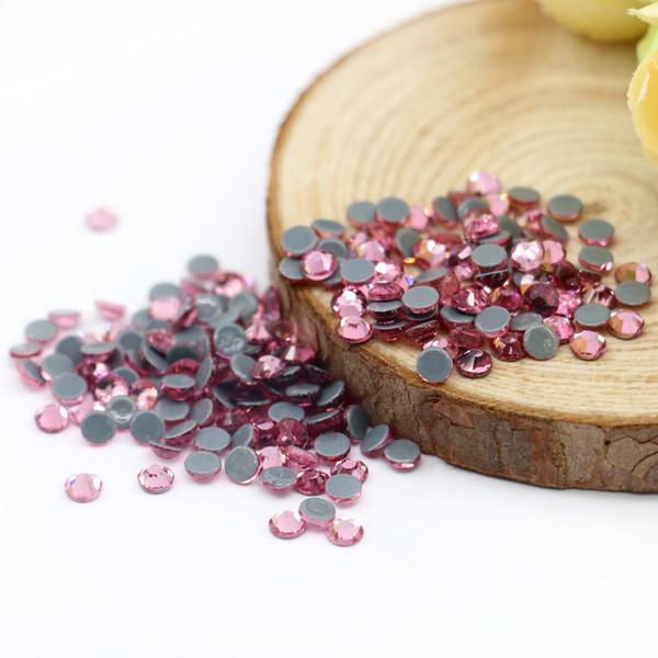 SA-223-Lt.Rose Austria Hotfix Glass Rhinestone for Jewelry Making Crystal Hotfix Rhinestone Good Quality Hot Sale